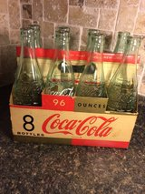 Coca Cola Early 1960s KING Size case and all 8 bottles in Aurora, Illinois
