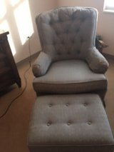 Chair and matching ottoman in Aurora, Illinois