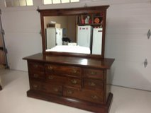 Dresser and Mirror-Ethan Allen Old Tavern collection in Kingwood, Texas