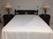 Queen bed, solid wood, Ethan Allen Old Tavern Collection in Kingwood, Texas