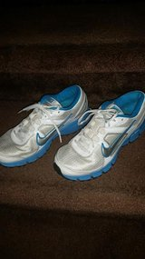 Blue / White Ladies Nike Infusion Tennis Shoes in Fort Campbell, Kentucky