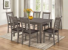 NEW!! ! Rustic solid wood dining set for 6!! in Vista, California