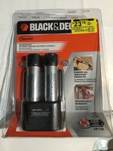 Black & Decker 2 batteries & charger rechargeable in Yucca Valley, California