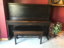 Refinished Antique Piano in St. Charles, Illinois