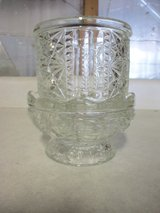 Partylite glass 2 pc. Candle Holder in Joliet, Illinois