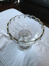 Clear Glass Compote in Fort Campbell, Kentucky
