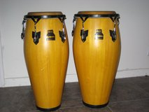 Congas - two PA Meinl Marathon Series in Houston, Texas