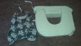 Twin nursing pillow & nursing cover in Glendale Heights, Illinois