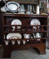 rustic 150 year old walnut shelves ...ideal for china in Ramstein, Germany