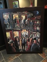 Jazz club Framed art picture in Naperville, Illinois