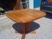 Great all wood kitchen table in Cherry Point, North Carolina