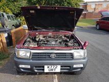 Toyota Hilux surf relisted red 4 x 4  2.4 diesel in Lakenheath, UK