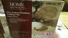"""52"""" Iron Palm Cove indoor/outdoor fan in Naperville, Illinois"""