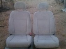 2 Seats for car in Yucca Valley, California