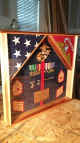 RETIREMENT SHADOW BOX in Camp Pendleton, California