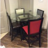 Table and chairs in Pearland, Texas