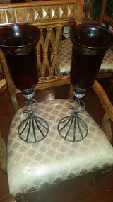 Ruby Red Mantle Candle Set in Fort Campbell, Kentucky