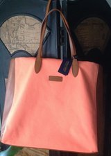Ralph Lauren Canvas and Leather Tote NEW in Mobile, Alabama