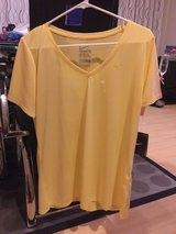 *NWT Women's Nike V-Neck Dry-Fit (Size XL/Light Yellow)* in Okinawa, Japan