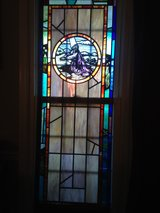 """Colors"" Stain Glass with + 75 Staned Panes in Camp Lejeune, North Carolina"