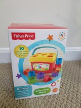 Fisher price Baby's first blocks new and sealed in Quantico, Virginia