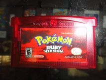 GBA Pokemon Ruby Version (REPRO) in Camp Lejeune, North Carolina