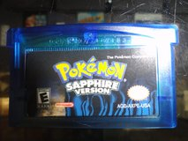 GBA Pokemon Sapphire Version (REPRO) in Camp Lejeune, North Carolina