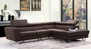 "INVENTORY SPECIAL!! ""WEISS""  CONTEMPORARY  LEATHER SOFA SECTIONAL in Vista, California"