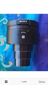 Sony Cyber-shot DSC-QX10 18.2 Megapixel Compact Camera - Black - 10x O - $120 in Hinesville, Georgia