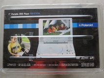 Brand new in box Portable DVD player with widescreen 7-inch LCD and TV wall mount in Algonquin, Illinois