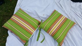 Patio chair pillows in Lockport, Illinois