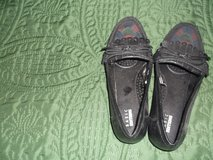BASIC EDITION BLACK SLIPPER WITH TRI COLOR TOE 6W in Alamogordo, New Mexico