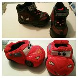 2 pr Clean Boy's Shoes Size 6 in Spring, Texas