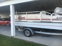 Deck boat with trailer in Camp Lejeune, North Carolina