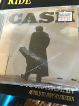 Johnny cash. New in Naperville, Illinois