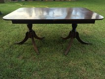 DUNCAN PHYFE ANTIQUE DINING TABLE in Warner Robins, Georgia