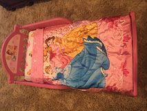 Disney Princess Toddler Bed, Mattress, Bedding 30.00 in Kingwood, Texas