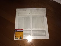 A/C Register - 4-Way, 12-Inch x 12-Inch, White NEW in Houston, Texas