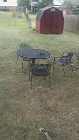 Patio Furniture Table with four chairs in Lexington, Kentucky