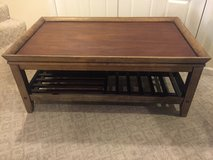Large Rustic Wooden Coffee Table in Naperville, Illinois