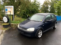 Opel Corsa TURBODIESEL- GAS SAVER- MODEL 2003-OFFER in Hohenfels, Germany