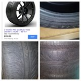 Michelin tires 245/45 ZR 17 95Y pilot sport A/S in Glendale Heights, Illinois