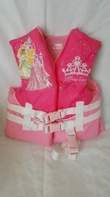 Nwot Disney Princess Life Jacket 30-50 lbs in Morris, Illinois