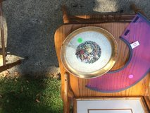 Washington Gold Rimmed Plate in Glendale Heights, Illinois