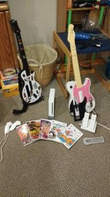 Wii console, controllers and games in Naperville, Illinois