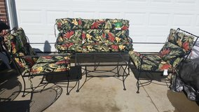 Better Homes & Garden / Black Iron / 4 Piece Conversation Patio Set in Clarksville, Tennessee