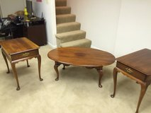 Statton Americana Coffee Table and two side tables in Glendale Heights, Illinois