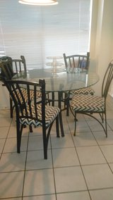 Dining table with chairs in Houston, Texas