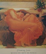 Wall Art Flaming June by Frédéric Leighton Print in Tinley Park, Illinois