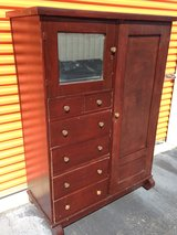 Mahogany Colonial Chifforobe in Cherry Point, North Carolina